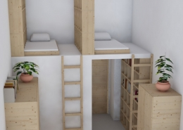 New Boarding Rooms at AMADEUS International School Vienna