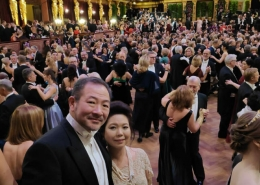 Dr and Mrs Goh at Wien Philharmonic Ball