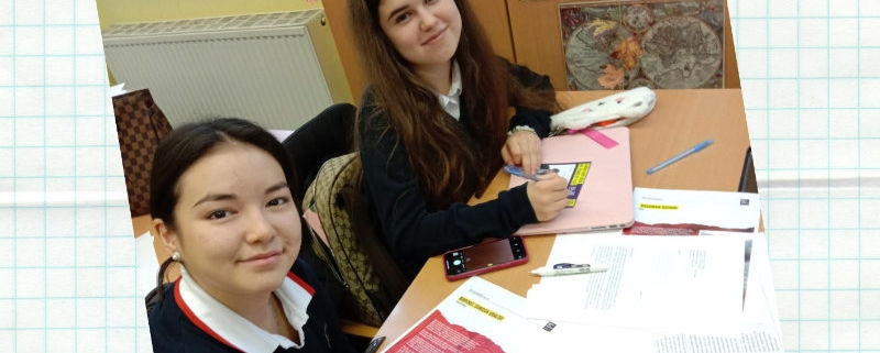 Students in Write for Rights campaign at Amadeus International School Vienna