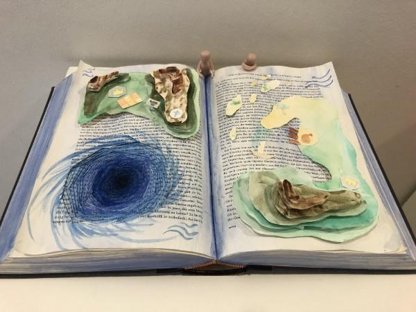 Book art work from AMADEUS School