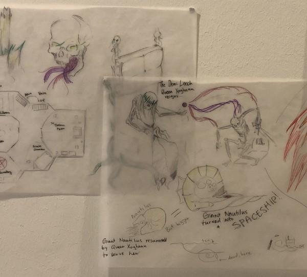 Drawing from AMADEUS International School Vienna