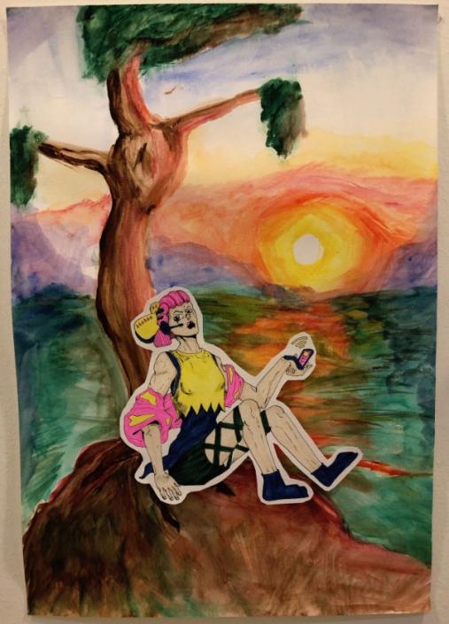 Sunset Art work from AMADEUS Vienna