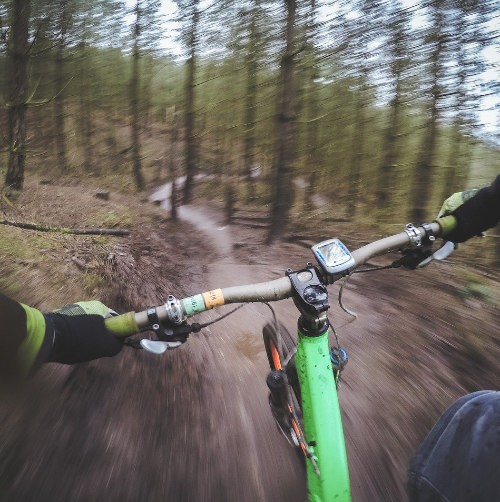 """<font color=""""#d61438"""">Mountain Biking</font>"""